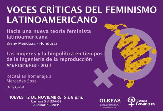 Voces Críticas del Feminismo Latinoamericano (Colombia, 2009)