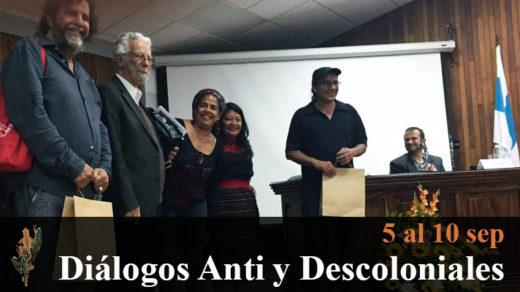 """Simposio """"Diálogos Anti y Descoloniales"""""""