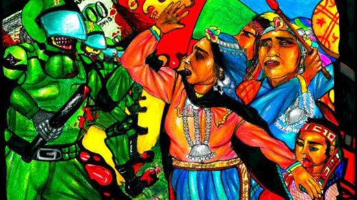 Manifiesto internacional contra la violencia hacia el pueblo Mapuche