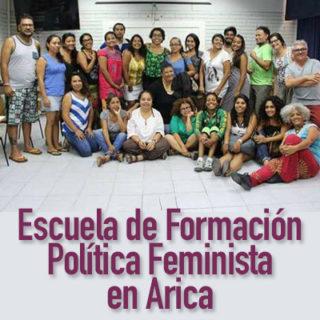 Comienza Escuela de Formación Política Feminista en Arica 8d10efeb0545